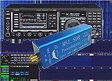 MSI.SDR 10kHz to 2GHz VHF UHF LF HF Radio Panadapter Panoramic Spectrum Display Module Set 12-bit ADC chip HD-SDR Walkie Talkie USB Tuner Receiver Empfänger Kompatible mit alle SDRPlay RSP1 Software