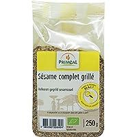 Semillas de Sésamo Tostadas - Semillas de Sésamo Ecológicas - Comercio Justo   250g   Priméal