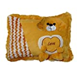Ultra Soft Love Cushion Pillow - Dog, Be...