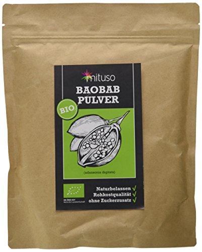 mituso Bio Baobab Pulver, 1er Pack (1 x 500g) -
