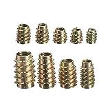 ChaRLes 9 tamaño M4 M5 M6 M8 M10 hexagonal tornillo de accionamiento en inserto roscado para madera tipo E - #4