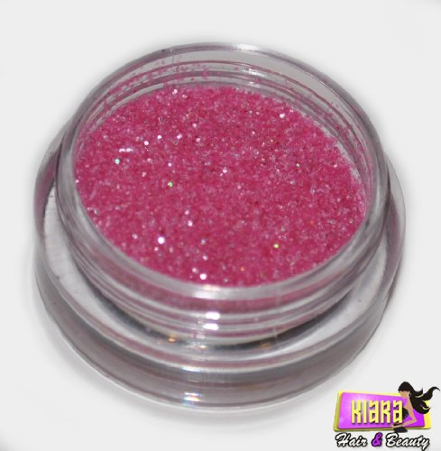 Hot Pink Laser Eye Shadow Loose Glitter Dust Body Face Nail Art Party Shimmer Make-Up by Kiara H&B