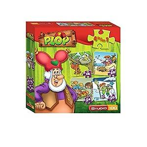Studio 100 MEPL00001800 90pieza(s) Puzzle - Rompecabezas (Jigsaw Puzzle, Dibujos, Plop, Niño/niña, 3 año(s), 90 Pieza(s))
