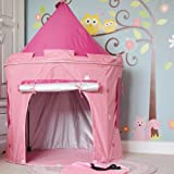 New Improved Quality Princess Tent - 2 windows with curtains and tunell - Tall Princess tent 140cms / 55inch's / 4ft 7 in height - UV protected - Bag included
