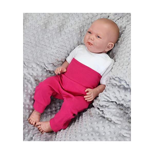 TupTam Pantalones de Bebé para Niñas. Paquete de 3 2