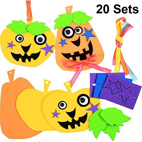 20 pezzi festa di ringraziamento halloween zucca fai da te zucca in schiuma decorazioni artigianato zucca fai da te per festival artigianato d'arte fai da te