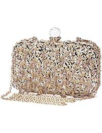 Pochette Per Donna Borsetta Cerimonia Borsa da sera da Tracolla Diamond  Clutch per Cocktail Party Matrimonio 228736358ca