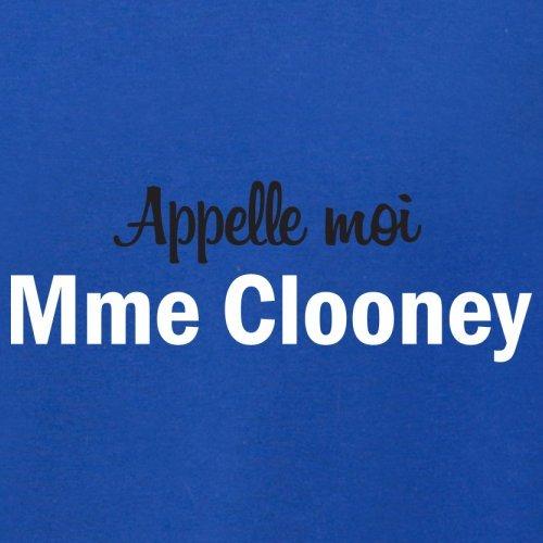 Apelle Moi Madame Clooney - Femme T-Shirt - 14 couleur Bleu Royal