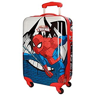 Spiderman Comic Equipaje Infantil, 55 cm, 35 Litros, Multicolor