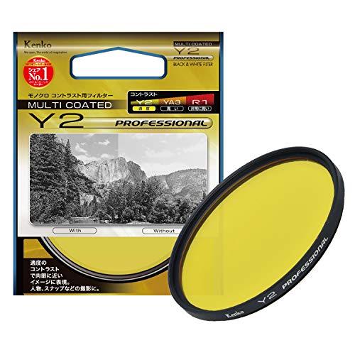 Kenko Professional Series Kameralinsenfilter Schwarz/Weiß, Y2, schwarz, 55mm