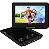 SYNAGY 9inch Portable DVD Player Portable CD Player With Screen SD Card Slot For Kids Adults Seniors And Cars