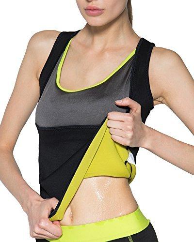 IFLOVE Hemd für Frauen, unterstützt Gewichtsverlust, Saunahemd, für den Muskelaufbau, das Cardio- oder Ausdauertraining geeignet (S)