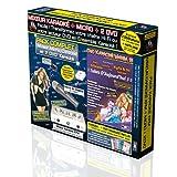 Pack Karaoké KPM Mixeur + 2 DVD + Micro + Adaptateur RCA/HDMI + Câble HDMI 1.5M - Tubes D'Aujourd'hui 3