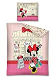 Minnie Mouse MAKEOVER SALON Kinder Bettwäsche 140 x 200 / 70 x 80 cm