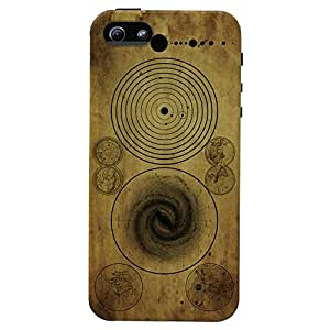 DailyObjects Ancient Space Map Mobile Case For Iphone 5/5S