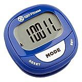 OZO Fitness - Podómetro dijital, Azul marino