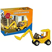ANADEL - Construction Blocks Excavator, 53 Pieces (an24821047)