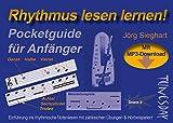 Rhythmus lesen lernen - Pocketguide für Anfänger mit MP3-Download