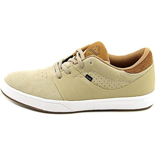Herren Skateschuh Globe Mahalo Sg Skateschuhe tan/white