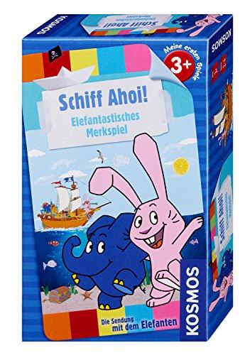 KOSMOS Juegos 711399-Barco Ahoi-El Programa con el Elefante