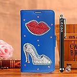 Locaa(TM) For Nokia Lumia 1020 Nokia1020 Lumia1020 3D Bling Case Funda 3 IN 1 Accesorios Funda Bumper Shell Caso Alta Calidad Piel Cuero Para Protector Dura Cover Cas [1] Azul - Flaming Lips