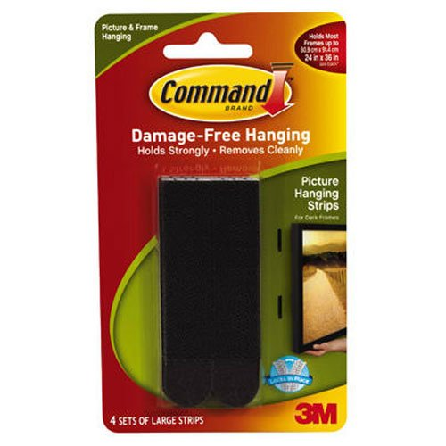 command-17206blk-large-picture-hanging-strips-black-pack-of-4