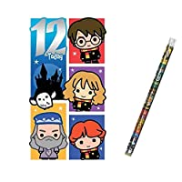 Unique Industries and Danilo Harry Potter Age 12 Birthday Card with a Harry Potter Pencil Gift