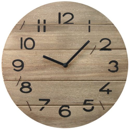 shabby-chic-wooden-driftwood-wall-clock-35cm-wooden-wallclock