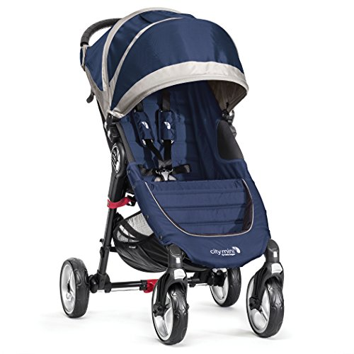 Baby Jogger City Mini 4 - Silla de paseo, color azulón/gris