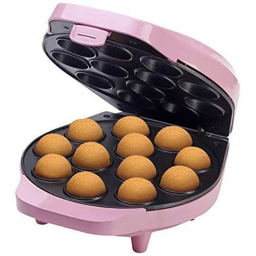 51yYsaFXTiL. SS500  - Bestron Retro Cake Pop Maker 700 Watt Sweet Dreams Non-Stick Coating - Pink