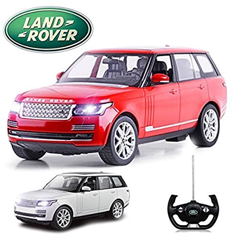 Comtechlogic® CM-2147 Official Licensed 1:14 New Range Rover Vogue Radio Controlled RC Electric Car Ready To Run EP RTR - RED
