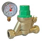 15 mm inklusive verstellbarem Sicherheitsüberdruckventil Stärke 1-6 Wasser Aufsichtskontrolle Kontrollfeldern Bar