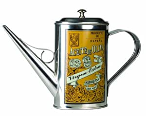 Ibili stainless steel Olive Oil can Arbequina