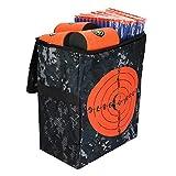 FTVOGUE Tiro Bersaglio Borsa di stoccaggio Clip da Cintura per Bersaglio lattina Kit proiettili Schiuma Morbida Compatibile per Giochi di Pistola Giocattolo Nerf(02)