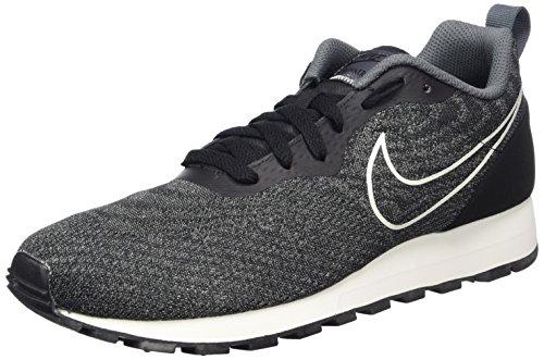 Nike MD RUNNER 2 Eng Mesh Scarpe da ginnastica da uomo rosso/nero Scarpe Sportive Scarpe Da Ginnastica