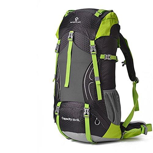 Hechen borsa da viaggio per uomini e donne 55l, zaino esterno, zaino grande, zaino da montagna, escursionismo,c