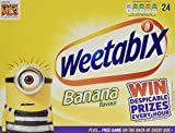 Weetabix Banana 24 Biscuits (Pack of 5, total of 120 biscuits)