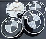 BMW BLACK REAL CARBON FIBRE 68MM ALLO...