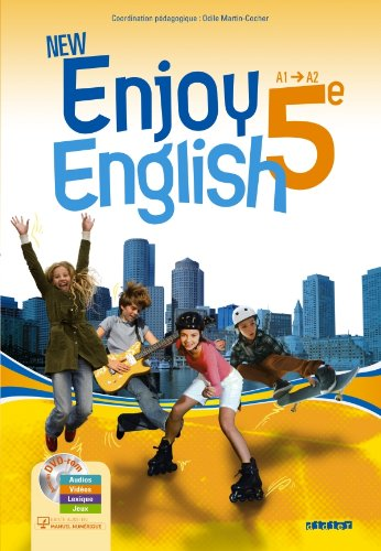 New Enjoy English 5e - Manuel + DVD-rom