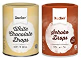 Xucker - 2er Schoko-Probierset (2 x 200 g) - weiße und vollmilch Schokodrops