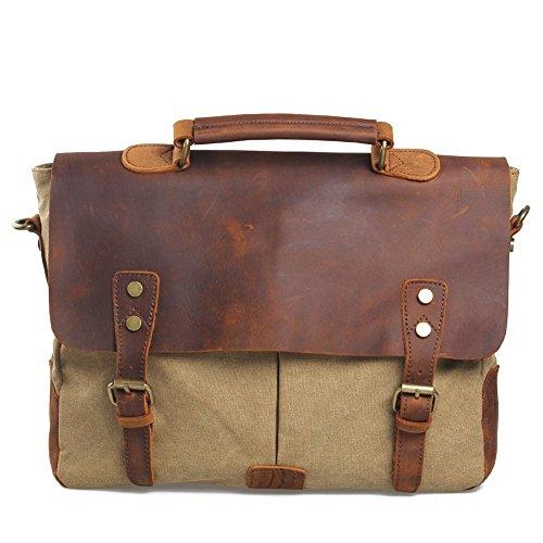 Europa e negli Stati Uniti gli uomini e le donne spalla borsa di tela borsa valigetta commercio estero borsa della borsa casuale , deep blue Khaki