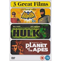 Batman - The Movie/The Death Of The Incredible Hulk/Beneath The Planet Of The Apes