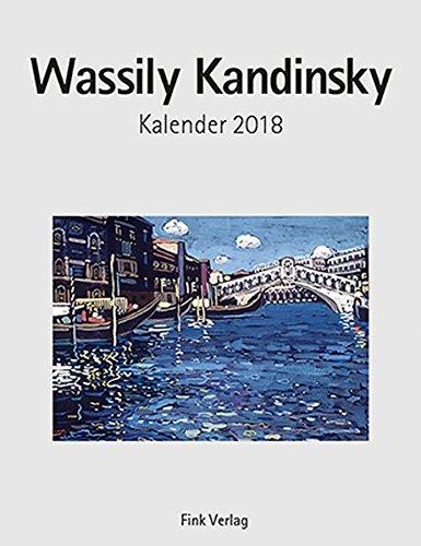 Wassily Kandinsky 2018: Kunst-Einsteckkalender