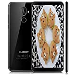 Cubot x18 Plus Smartphone 4G, 5.99 Pollici Android 8.0 Telefono Cellulari, Smartphone Dual Sim, Fingerprint Smartphone, MT6750T, 1.5GHz,Cellulare Octa Core, 4GB RAM 64GB ROM, 20.0MP AF+2.0MP+13.0MP Camera,WiFi, GPS Cellulare -Nero