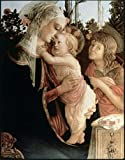 Sandro Botticelli - Madonna of the Rosegarden #2 (with St.
