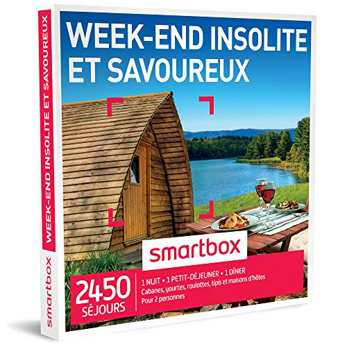Smartbox - Coffret Cadeau - Week-End Insolite et Savoureux -...