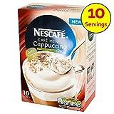 Nescafe Cappuccino ungesüßt entkoffeiniert 10 x 15g