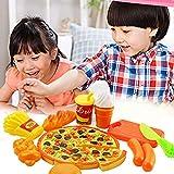 Vrarula Küchenspielzeug Set, Kinder 15 Stücke Burger Spielzeug Kuchen Geschnitten Spielzeug Pädagogisches Lernen Küchen Set Play Kinder Rollenspiele Spielzeug