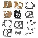 HIPA Kit Réparation K20-WAT pour Carburateur Walbro Tronçonneuse Coupe-bordure Echo Homelite Husqvarna
