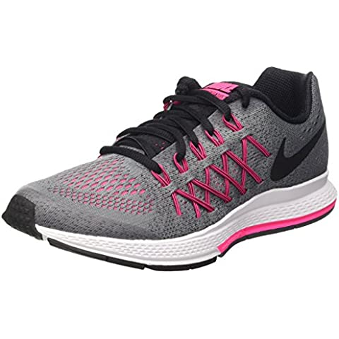 Nike Zoom Pegasus 32 (Gs) Scarpe da ginnastica, Bambine e ragazze